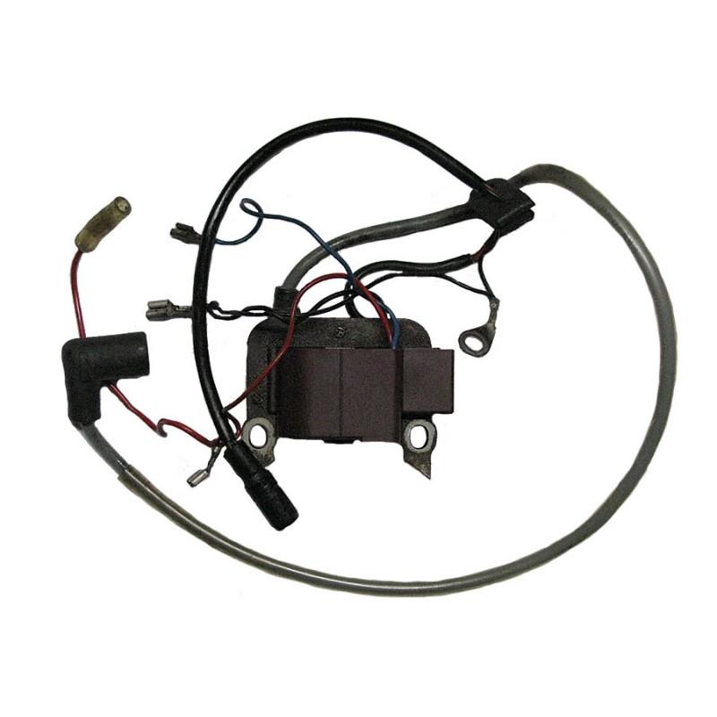 Cewka zapłonowa do silnika z elektrostartem (rozrusznikiem) - rower z silnikiem Sachs 301a