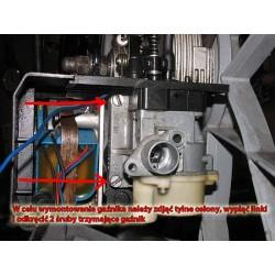 Odkręcanie gaźnika - rower z silnikiem Sachs 301a