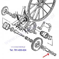 O-ring osi do rowerów z silnikiem spalinowym Sachs 301A