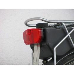 Lampka tylna na bagażnik - rower z silnikiem spalinowym Sachs 301A