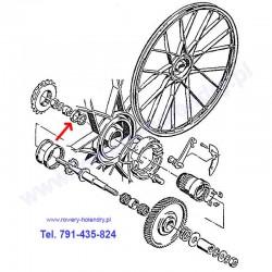 Uszczelniacz / Simmering wianka piasty do rowerów z silnikiem spalinowym Sachs 301A