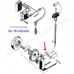 Tulejka śruby szarpaka - rower z silnikiem spalinowym Sachs 301A
