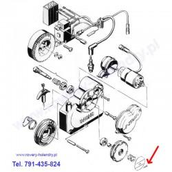 Zawleczka / szpilka docisku kółka zębatego - rower z silnikiem spalinowym Sachs 301A