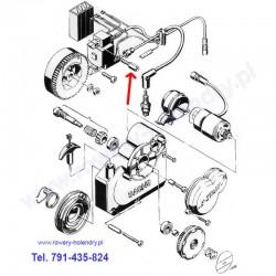 Śruba cewki (rozrusznik) - rower z silnikiem spalinowym Sachs 301A