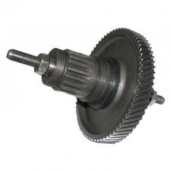 Przekładnia napędu - silnik spalinowy Sachs 301A. Rower z silnikiem
