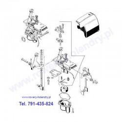 Schemat gaźnika TK do rowerów z silnikiem spalinowym Sachs 301A