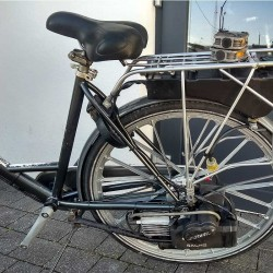 Bak - zbiornik paliwa - rower z silnikiem spalinowym Sachs 301A