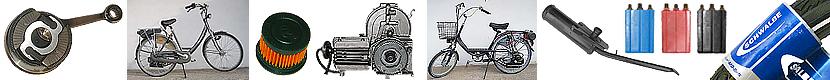 Rowery z silnikiem spalinowym Sachs 301a. Części - Serwis - Naprawa rowerów z silnikiem Sachs 301a